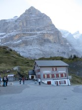 Hotel at Grosse Scheidegg.
