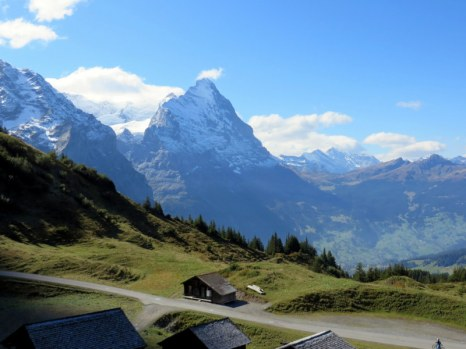 Eiger view.
