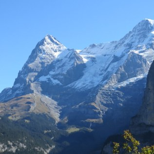A view of the peaks from Mürren.